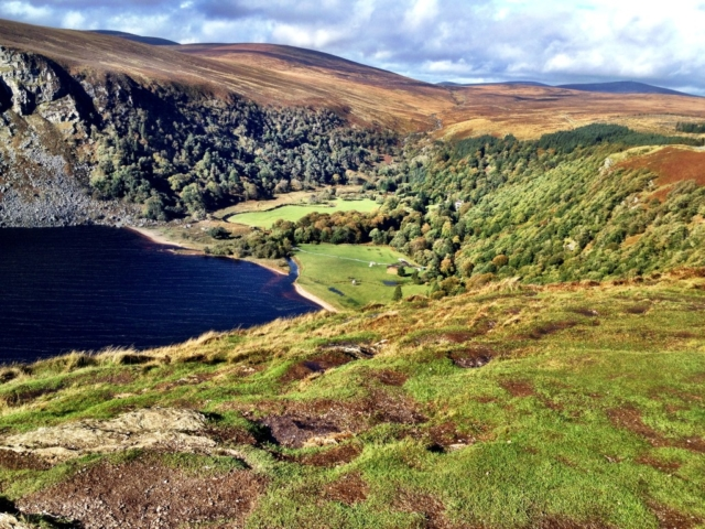 Wicklowfjellene, Lough Tay og Guiness familiens eiendom