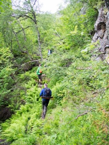 Veien opp til Raunsdalen