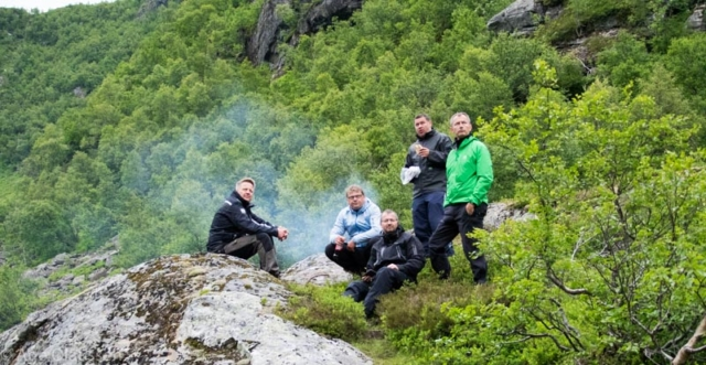 Raunsdalen, Hardanger
