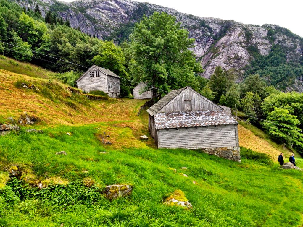 Gamle bygninger på Isberg