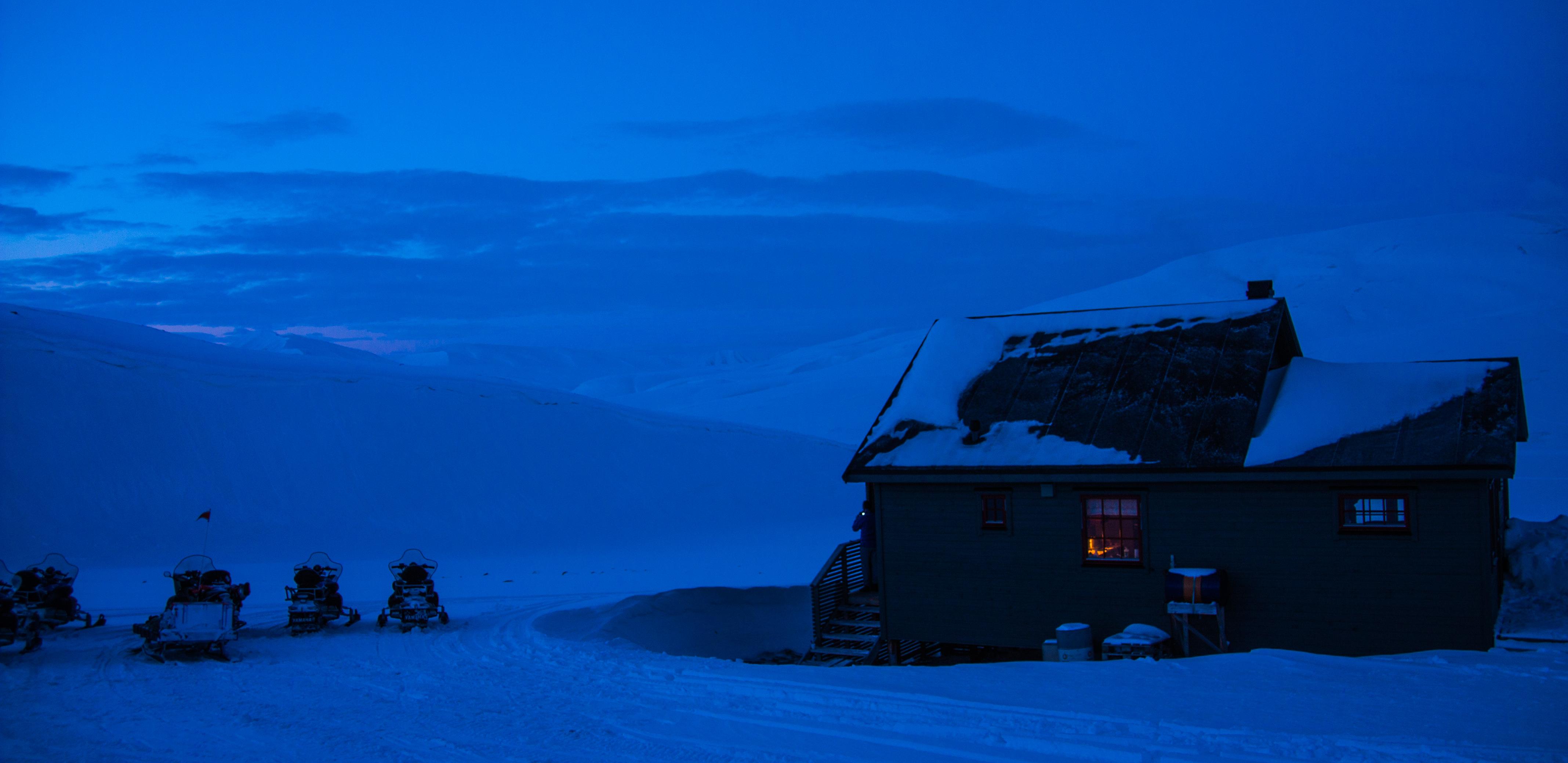 Den blå timen, Svalbard