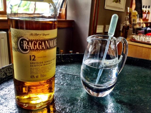 Besøk hos Cragganmore, Scotland